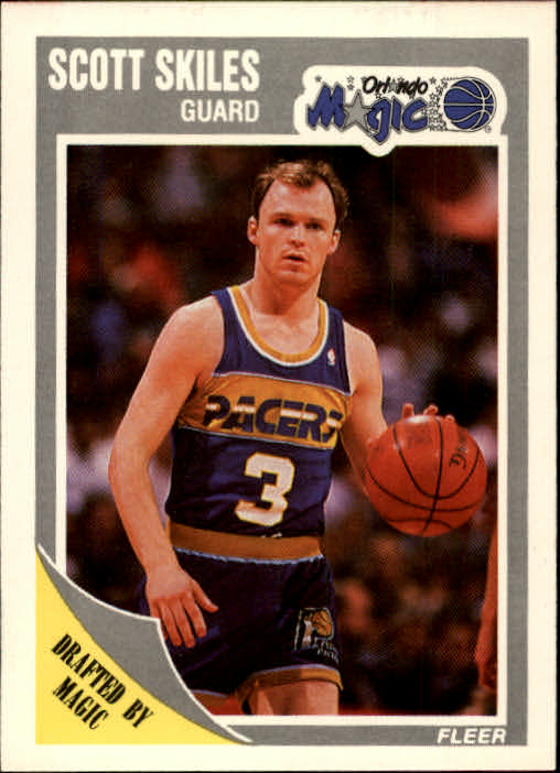 1989-90 Fleer #110 Scott Skiles RC