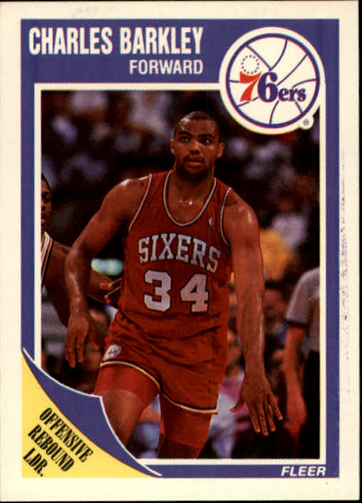 1989-90 Fleer #113 Charles Barkley