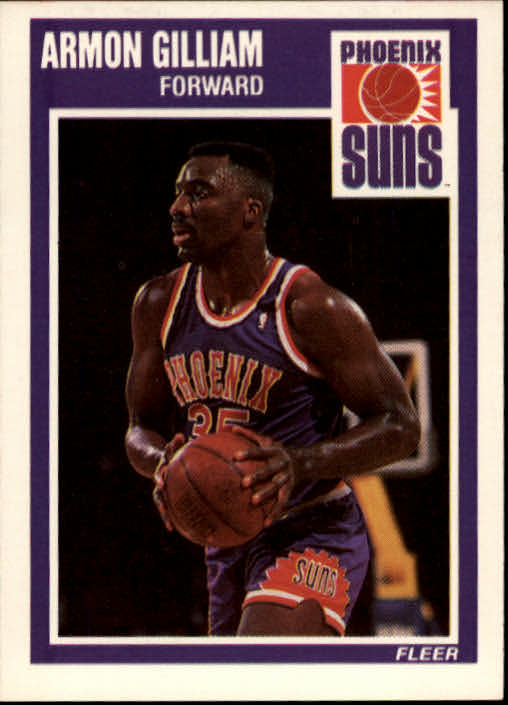 1989-90 Fleer #120 Armon Gilliam