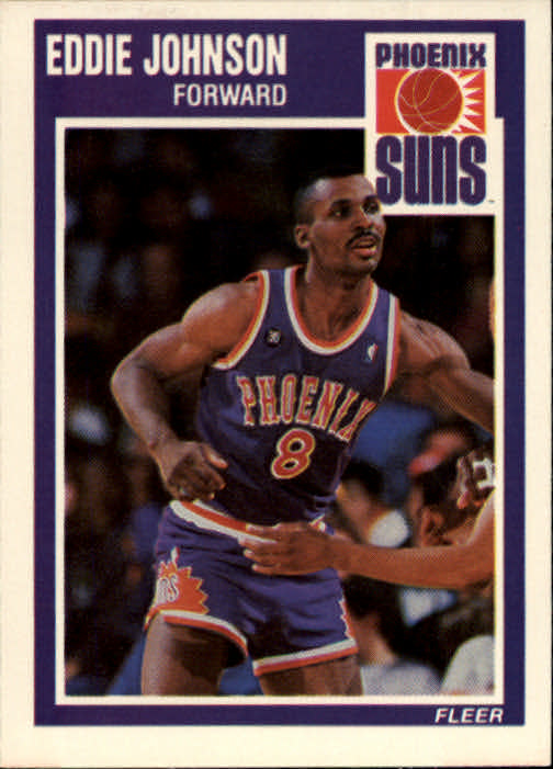 1989-90 Fleer #122 Eddie Johnson