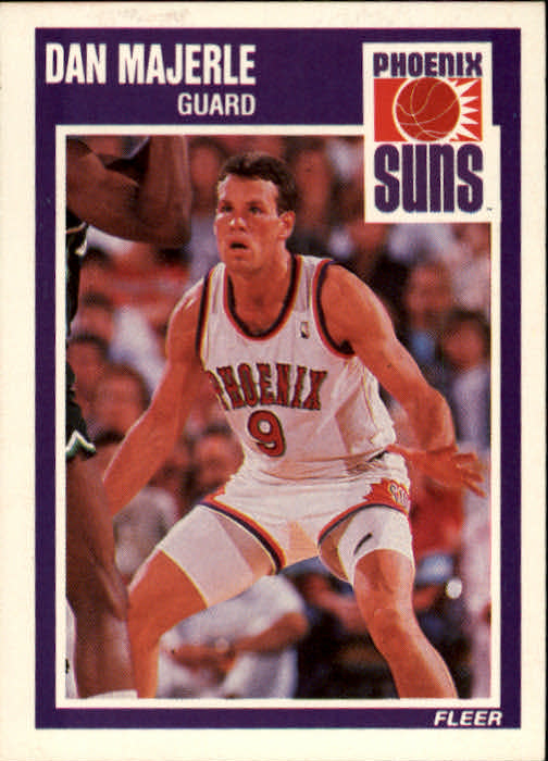 1989-90 Fleer #124 Dan Majerle RC