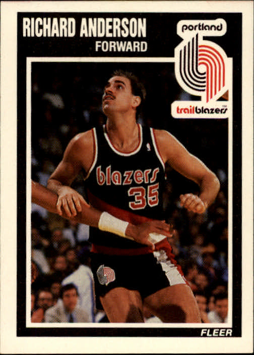 1989-90 Fleer #126 Richard Anderson