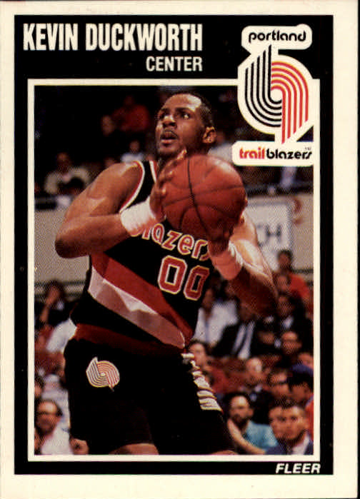 1989-90 Fleer #129 Kevin Duckworth