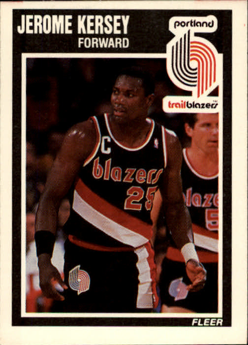 1989-90 Fleer #130 Jerome Kersey