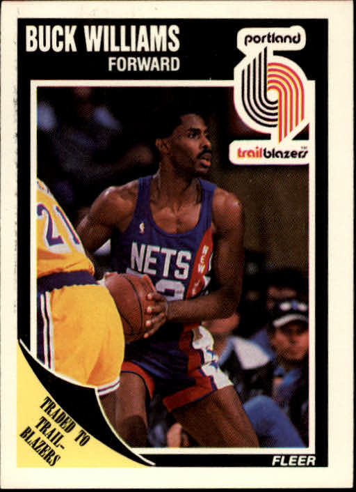 1989-90 Fleer #132 Buck Williams