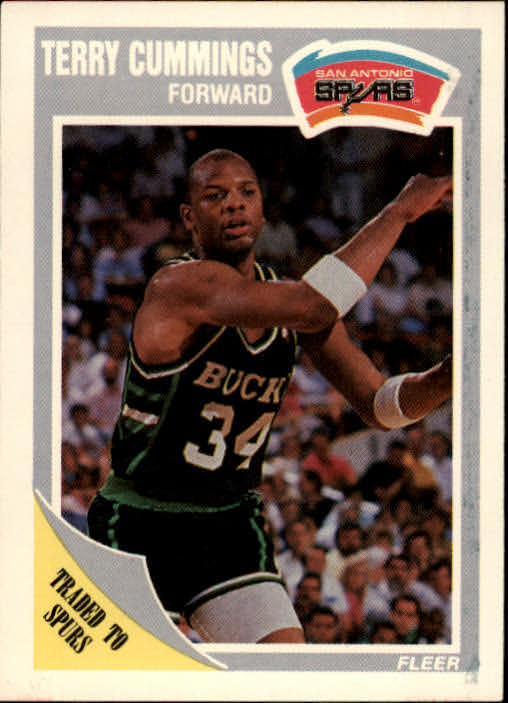 1989-90 Fleer #142 Terry Cummings