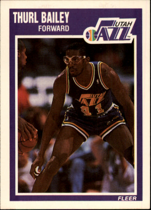 1989-90 Fleer #151 Thurl Bailey