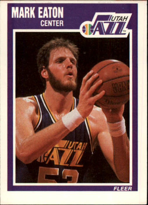 1989-90 Fleer #152 Mark Eaton