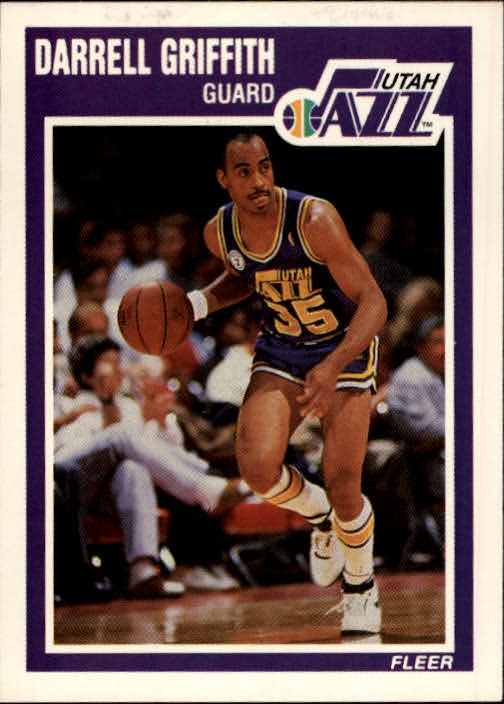 1989-90 Fleer #153 Darrell Griffith