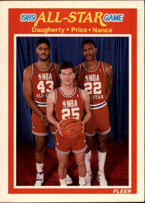 1989-90 Fleer #166 ASG:Daugh/Price/Nance