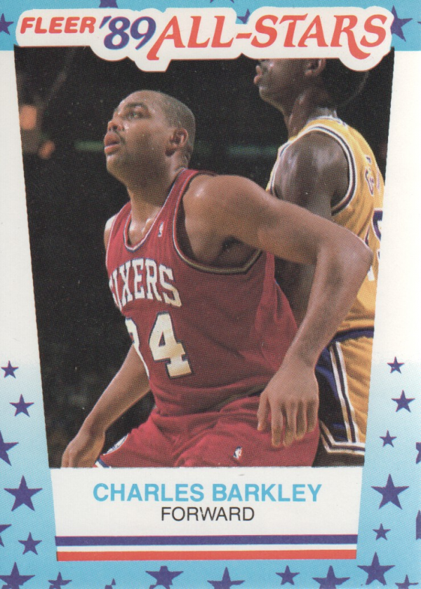 1989-90 Fleer Stickers #4 Charles Barkley
