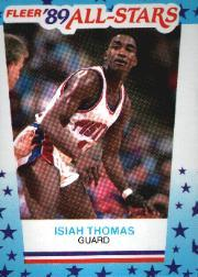 1989-90 Fleer Stickers #6 Isiah Thomas