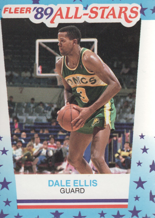 1989-90 Fleer Stickers #8 Dale Ellis