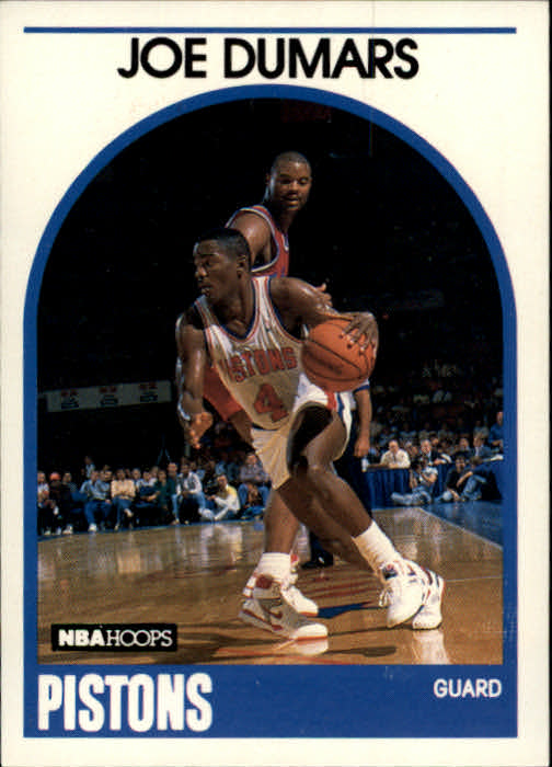 1989-90 Hoops #1 Joe Dumars