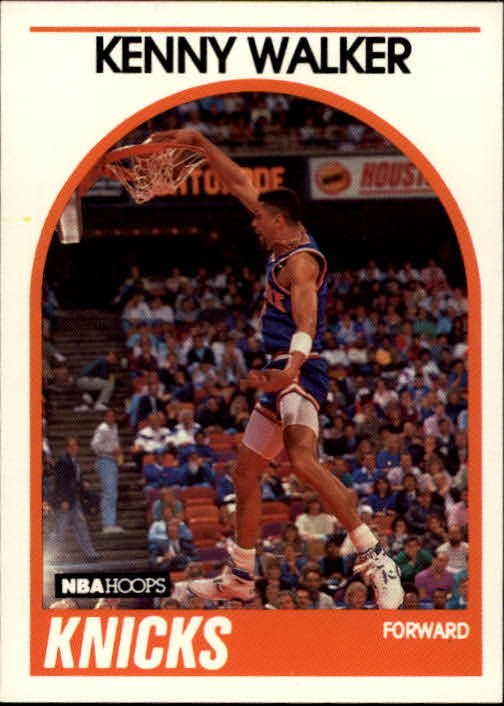 1989-90 Hoops #3 Kenny Walker