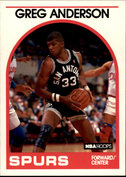 1989-90 Hoops #7 Greg Anderson SP