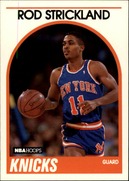 1989-90 Hoops #8 Rod Strickland RC