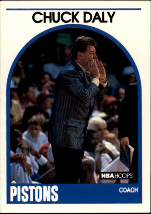 1989-90 Hoops #11 Chuck Daly CO RC