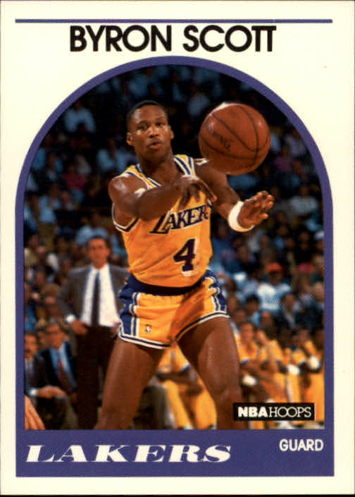 1989-90 Hoops #15 Byron Scott