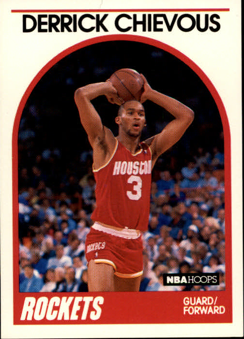 1989-90 Hoops #16 Derrick Chievous