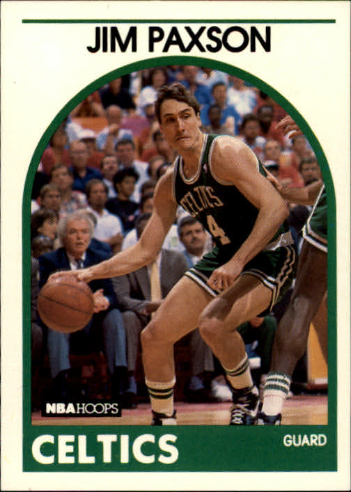 1989-90 Hoops #18 Jim Paxson
