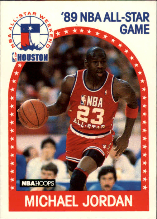 1989-90 Hoops #21 Michael Jordan AS