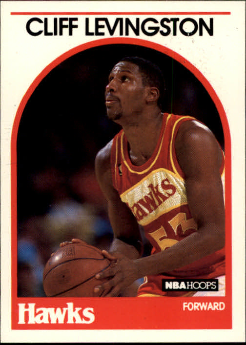 1989-90 Hoops #22 Cliff Levingston