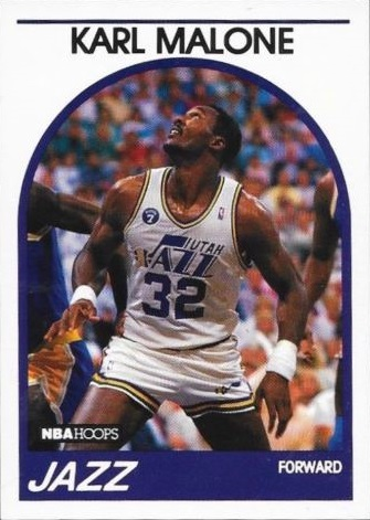 1989-90 Hoops #30 Karl Malone