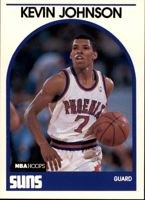 1989-90 Hoops #35 Kevin Johnson RC