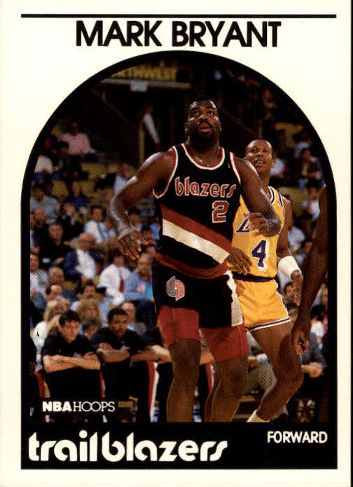 1989-90 Hoops #36 Mark Bryant RC