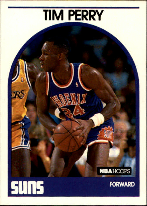 1989-90 Hoops #38 Tim Perry RC