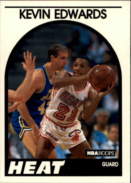1989-90 Hoops #41 Kevin Edwards RC