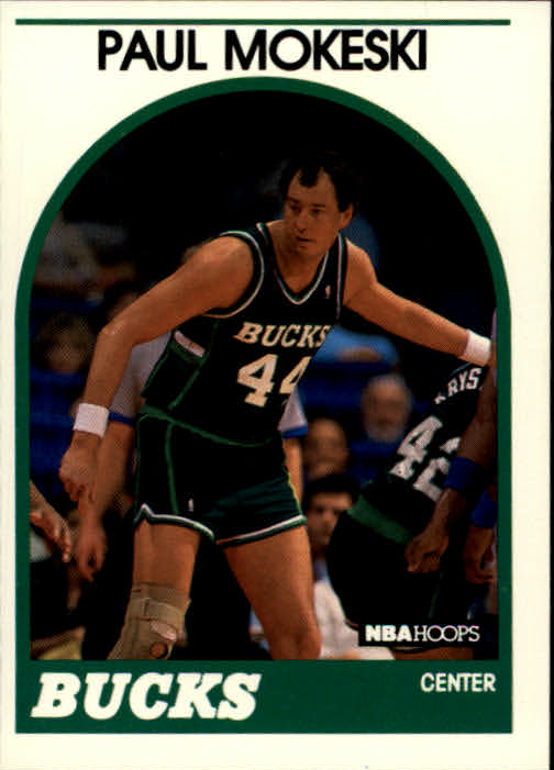1989-90 Hoops #42 Paul Mokeski