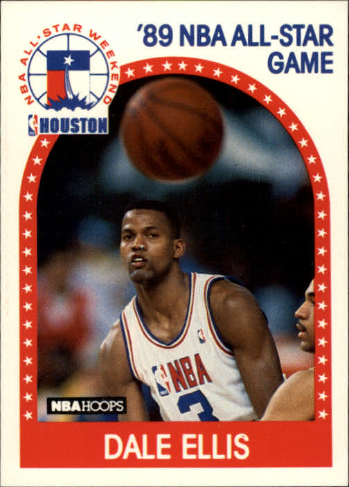 1989-90 Hoops #43 Dale Ellis AS