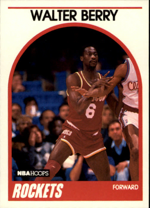 1989-90 Hoops #44 Walter Berry