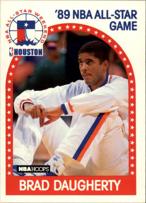 1989-90 Hoops #48 Brad Daugherty AS