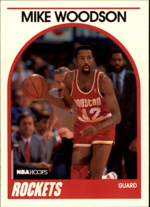 1989-90 Hoops #49 Mike Woodson