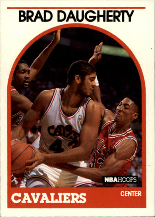 1989-90 Hoops #50 Brad Daugherty