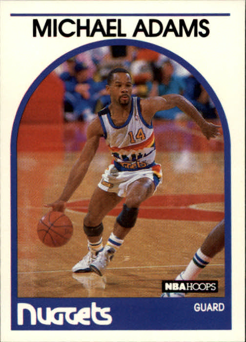 1989-90 Hoops #52 Michael Adams