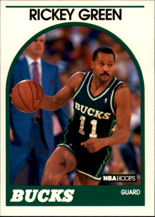 1989-90 Hoops #56 Rickey Green