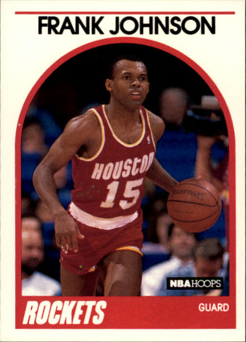1989-90 Hoops #57 Frank Johnson SP