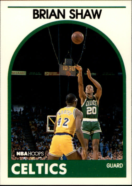 1989-90 Hoops #62 Brian Shaw SP UER RC