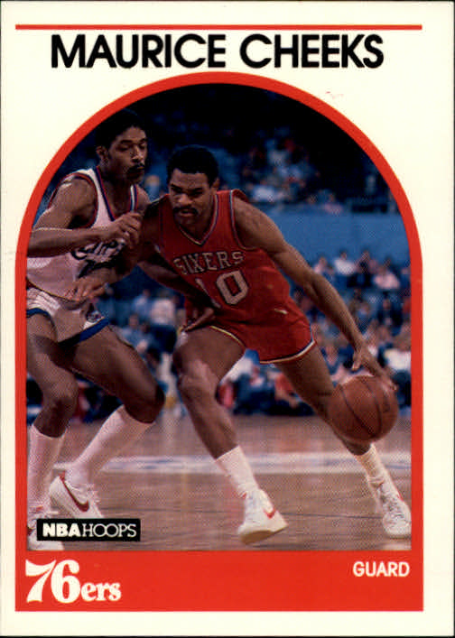 1989-90 Hoops #65 Maurice Cheeks SP