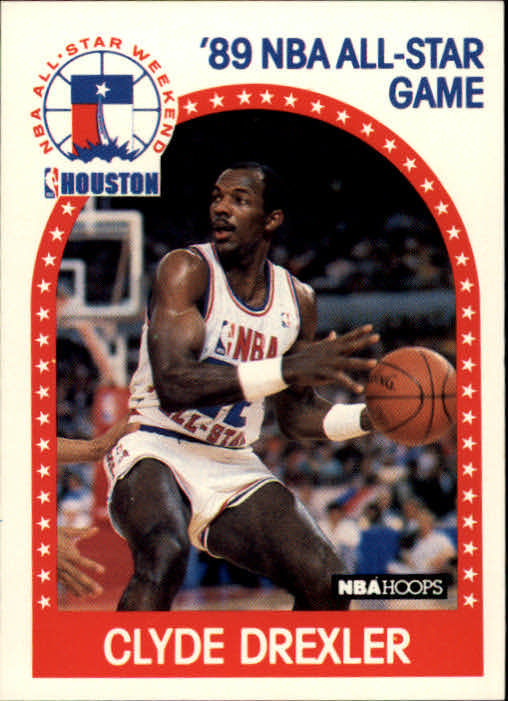 1989-90 Hoops #69 Clyde Drexler AS
