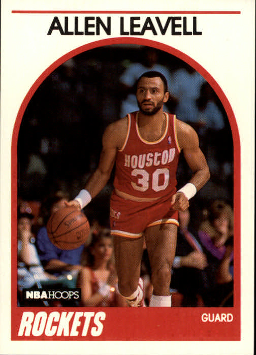 1989-90 Hoops #77 Allen Leavell