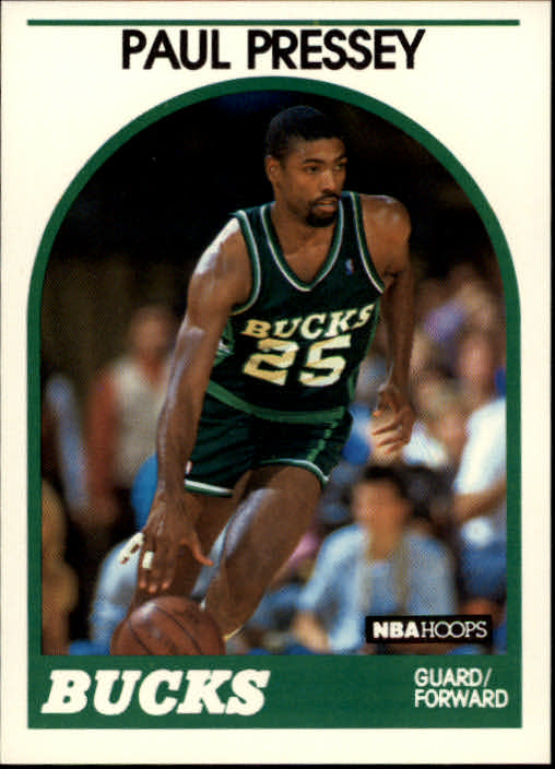 1989-90 Hoops #79 Paul Pressey