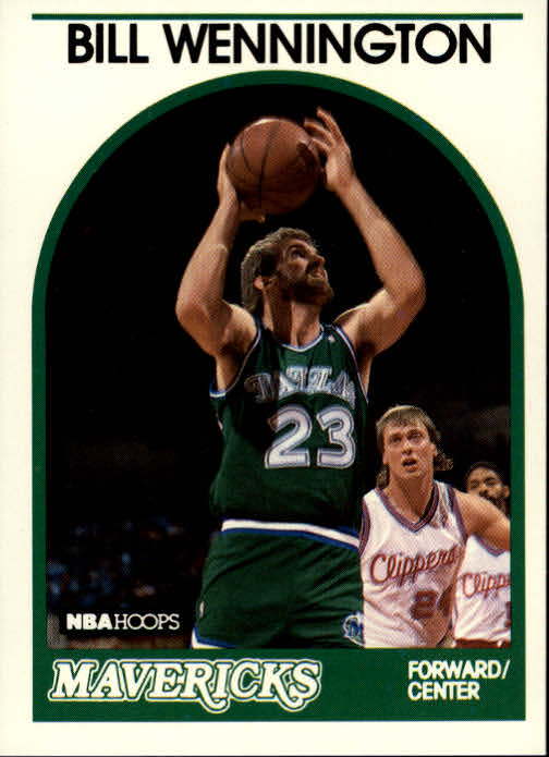 1989-90 Hoops #81 Bill Wennington RC