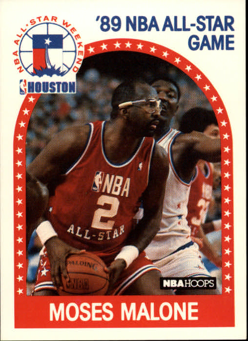 1989-90 Hoops #84 Moses Malone AS