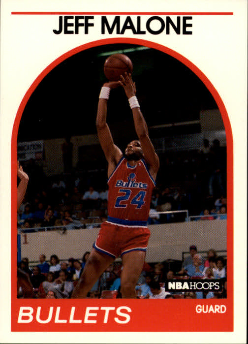 1989-90 Hoops #85 Jeff Malone