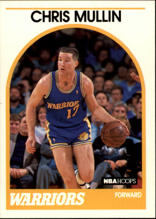 1989-90 Hoops #90 Chris Mullin